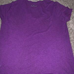Under Armour purple athletic shirt L